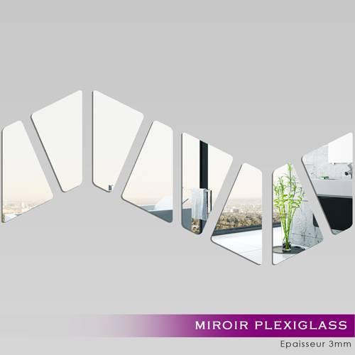 miroir plexiglass acrylique vague des prix 50 moins cher qu 39 en magasin. Black Bedroom Furniture Sets. Home Design Ideas
