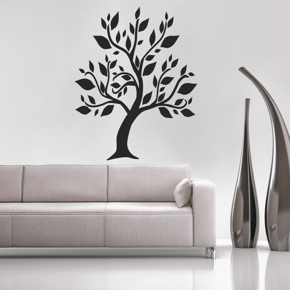 stickers arbre noir 135x169cm des prix 50 moins cher qu 39 en magasin. Black Bedroom Furniture Sets. Home Design Ideas