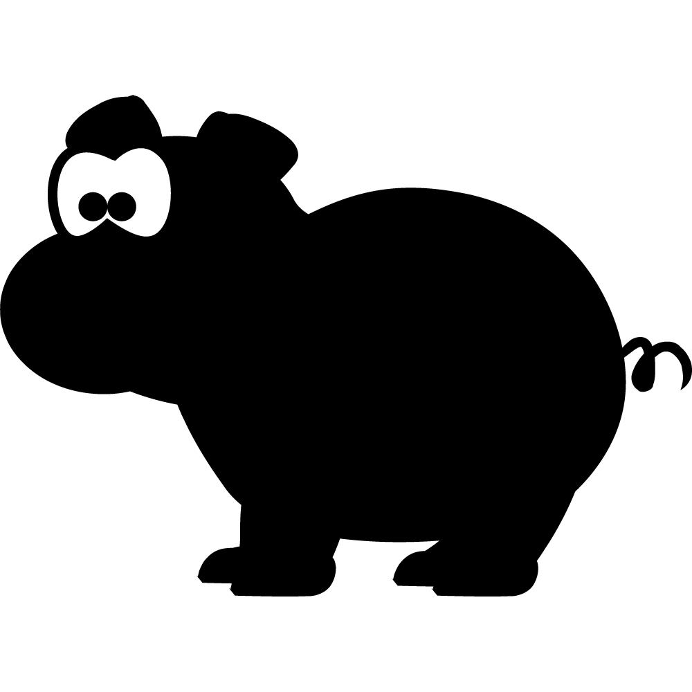 Stickers ardoise cochon des prix 50 moins cher qu 39 en magasin - Pose stickers muraux ...