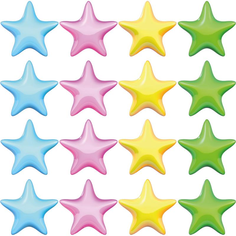 Stickers muraux etoiles maison design for Stickers muraux