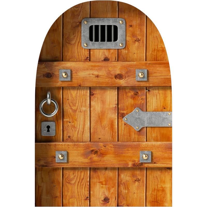 stickers effet 3d porte de prison des prix 50 moins cher qu 39 en magasin. Black Bedroom Furniture Sets. Home Design Ideas
