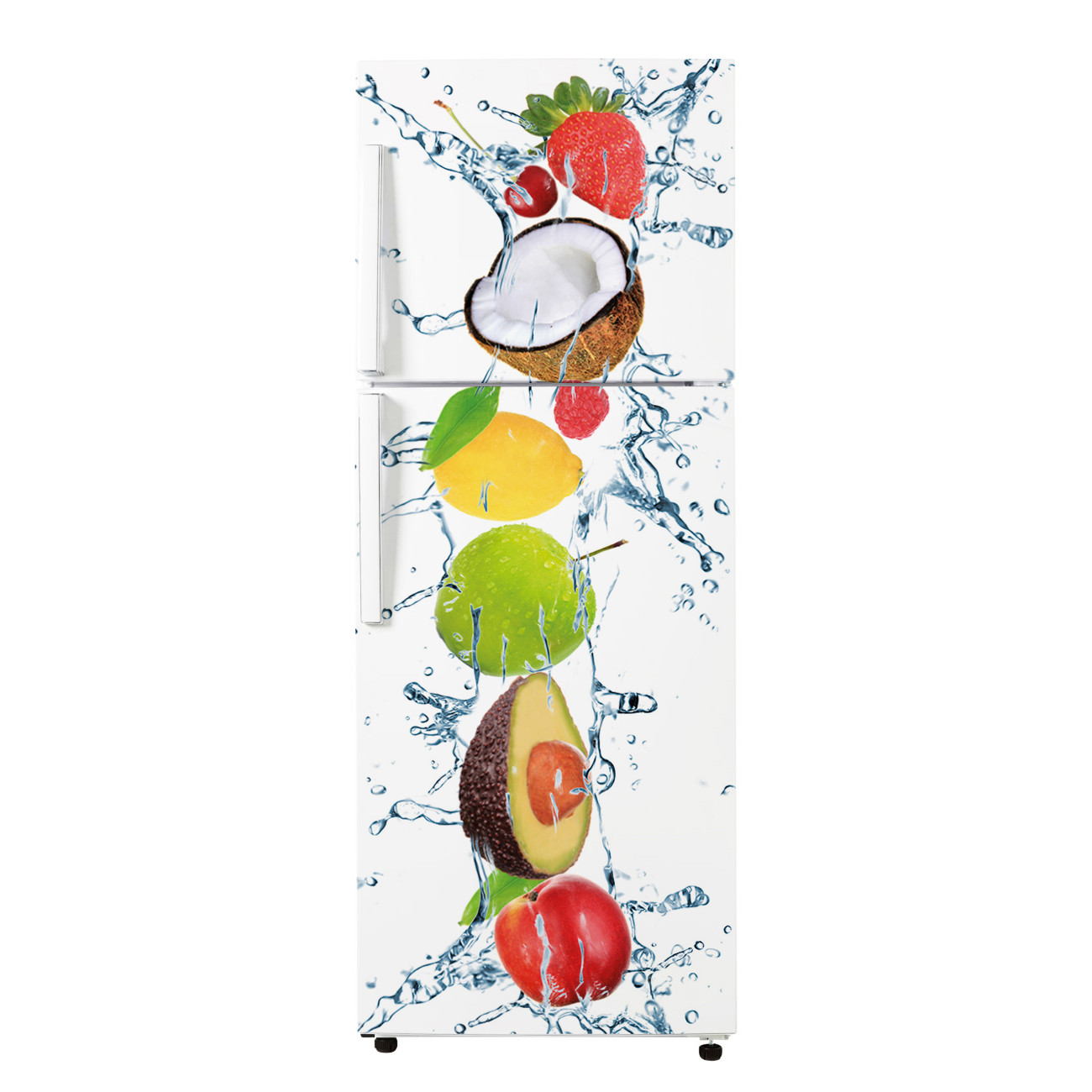stickers frigo fruits 7 des prix 50 moins cher qu 39 en magasin. Black Bedroom Furniture Sets. Home Design Ideas