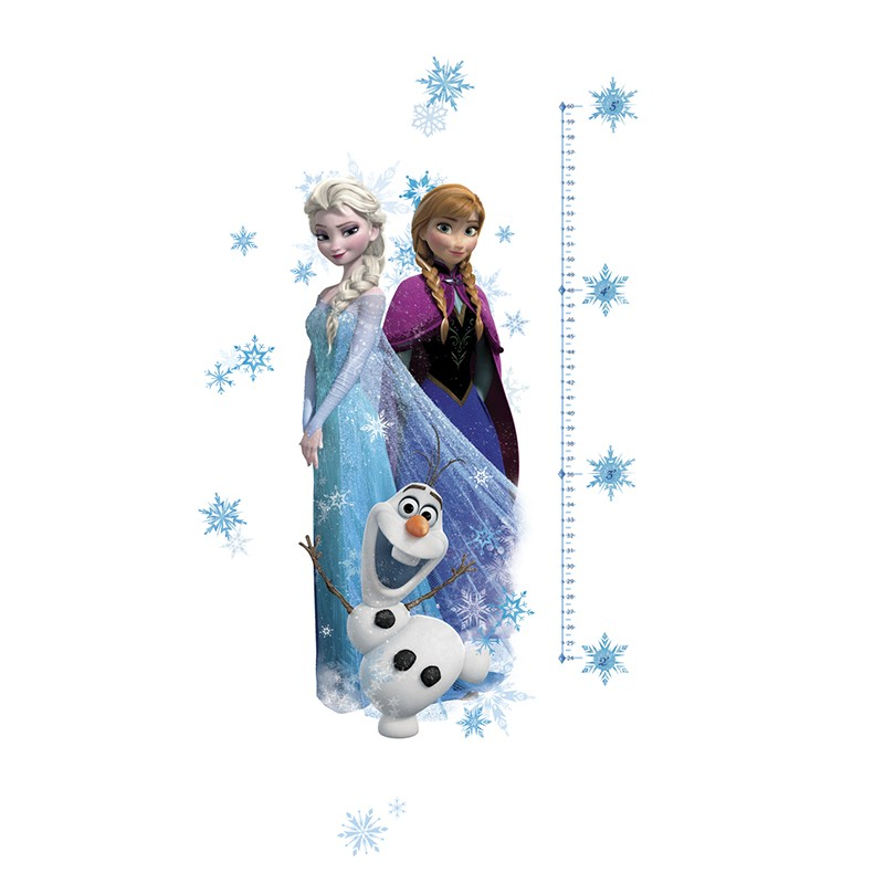 stickers g ant toise la reine des neiges disney des prix 50 moins cher qu 39 en magasin. Black Bedroom Furniture Sets. Home Design Ideas