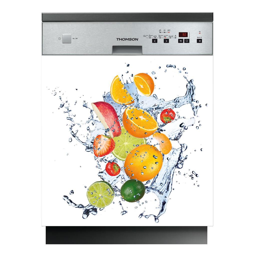 stickers lave vaisselle fruits des prix 50 moins cher qu 39 en magasin. Black Bedroom Furniture Sets. Home Design Ideas