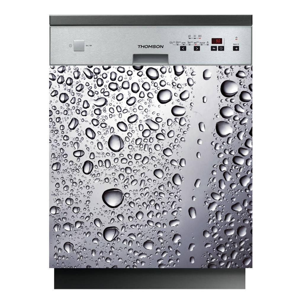 stickers lave vaisselle goutte d 39 eau des prix 50 moins cher qu 39 en magasin. Black Bedroom Furniture Sets. Home Design Ideas
