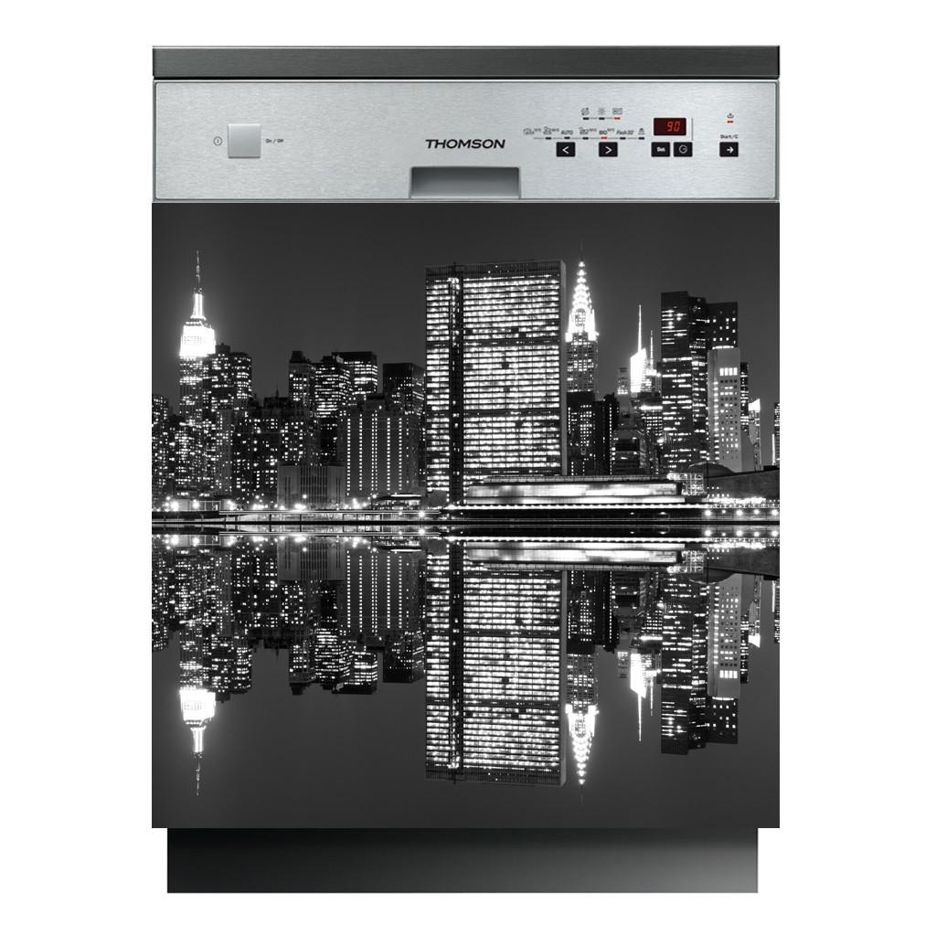 stickers lave vaisselle new york des prix 50 moins cher. Black Bedroom Furniture Sets. Home Design Ideas