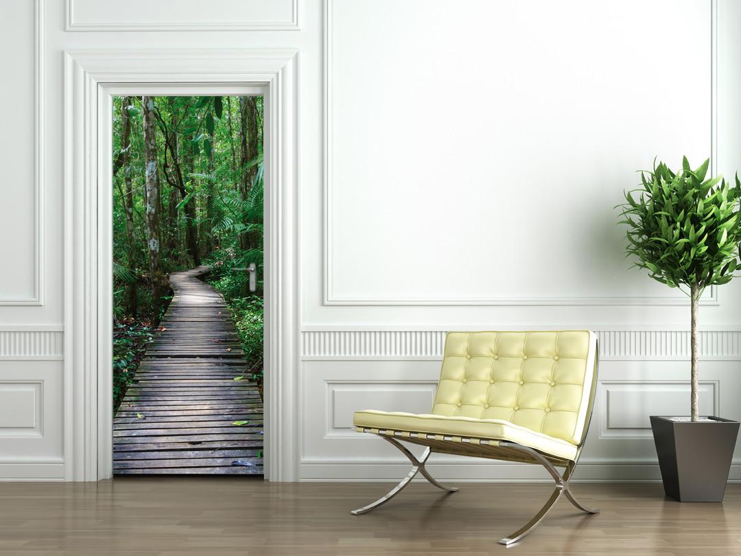 stickers porte chemin des prix 50 moins cher qu 39 en magasin. Black Bedroom Furniture Sets. Home Design Ideas