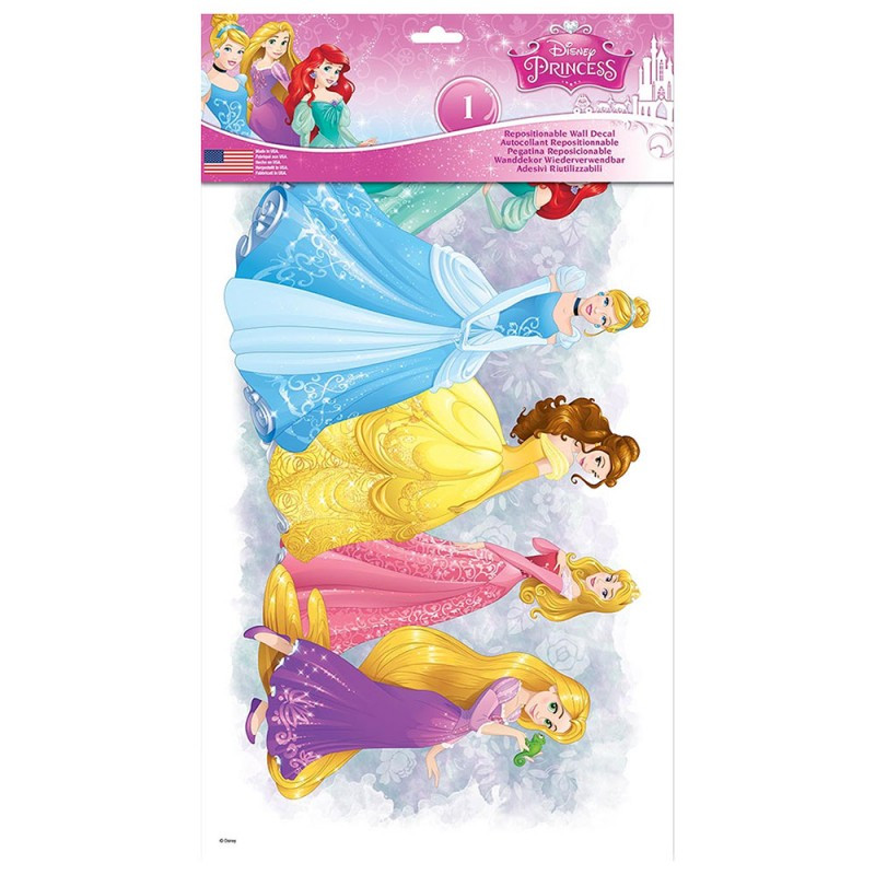 stickers princesses disney des prix 50 moins cher qu 39 en magasin. Black Bedroom Furniture Sets. Home Design Ideas