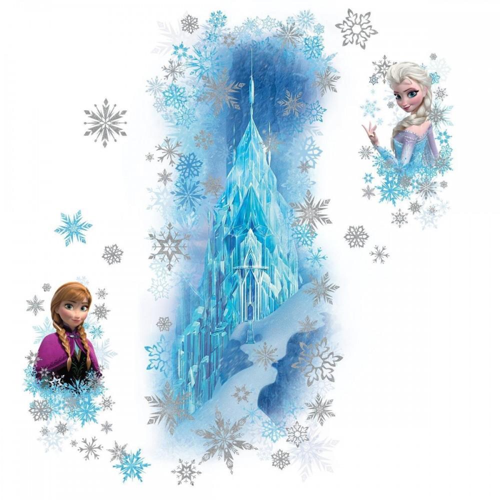 stickers scintillants le palais de glace la reine des neiges disney des prix 50 moins cher qu. Black Bedroom Furniture Sets. Home Design Ideas