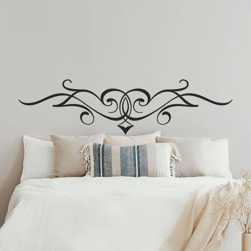 Stickers tte de lit des prix 50 moins cher qu 39 en magasin - Stickers muraux tete de lit ...