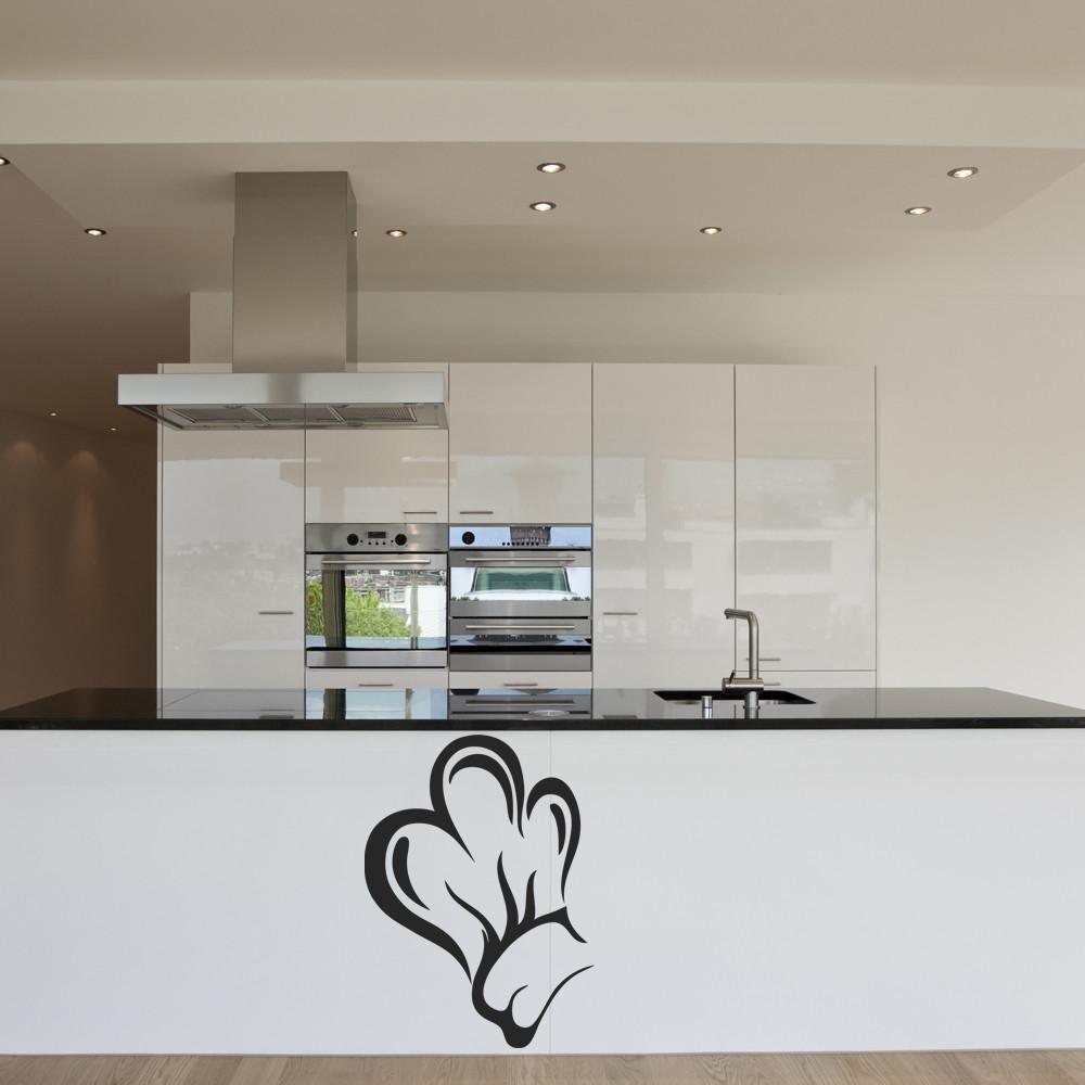 stickers toque cuisine des prix 50 moins cher qu 39 en magasin. Black Bedroom Furniture Sets. Home Design Ideas