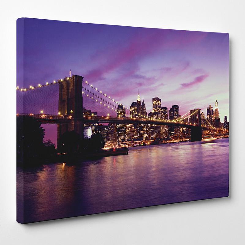 Tableau toile new york 5 des prix 50 moins cher qu 39 en magasin - Tableau new york castorama ...