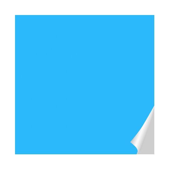 Stickers au mètre couleur Bleu clair   Des prix 50% moins cher qu