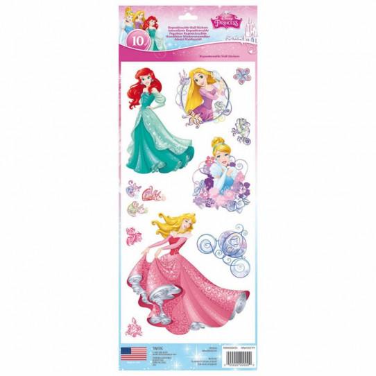 10 Stickers Princesses Disney