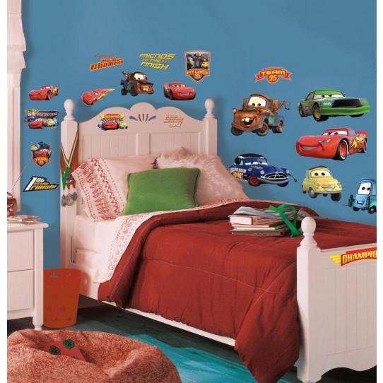 19 Stickers Cars Disney