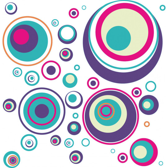 kit Stickers cercles