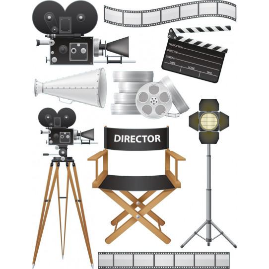 kit Stickers cinéma
