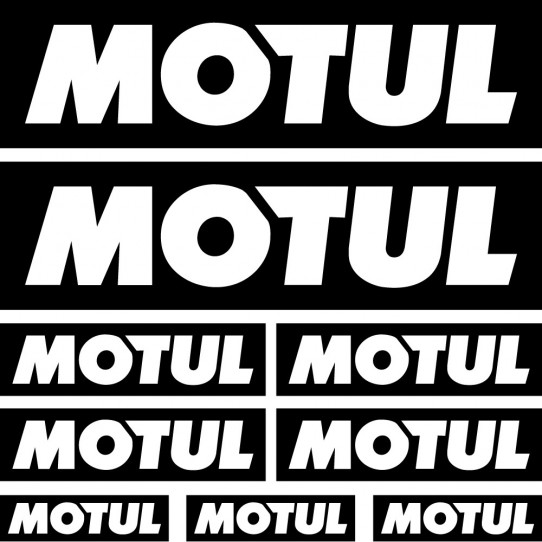 Kit stickers motul