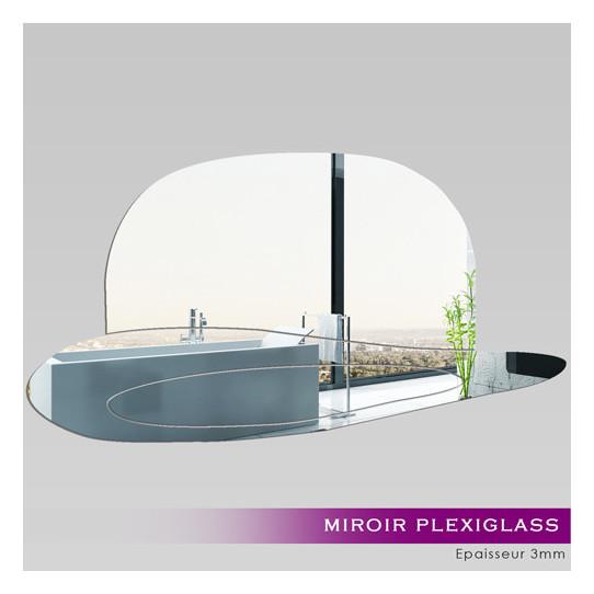 Miroir Plexiglass Acrylique - Chapeau 2