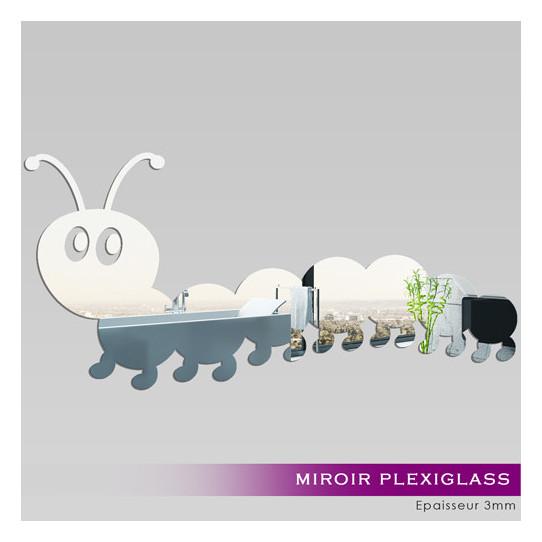Miroir Plexiglass Acrylique -  Mille pattes