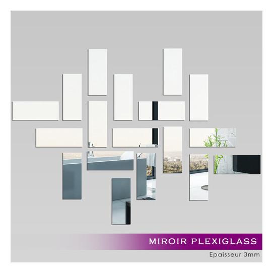 Miroir Plexiglass Acrylique - Rectanges