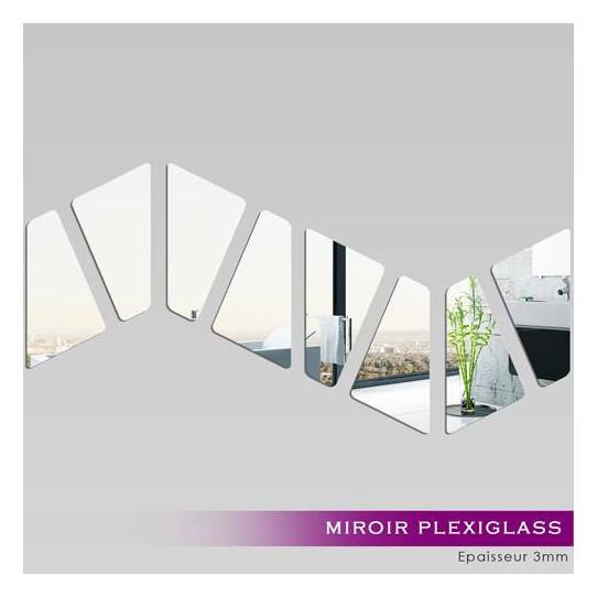 Miroir Plexiglass Acrylique - Vague
