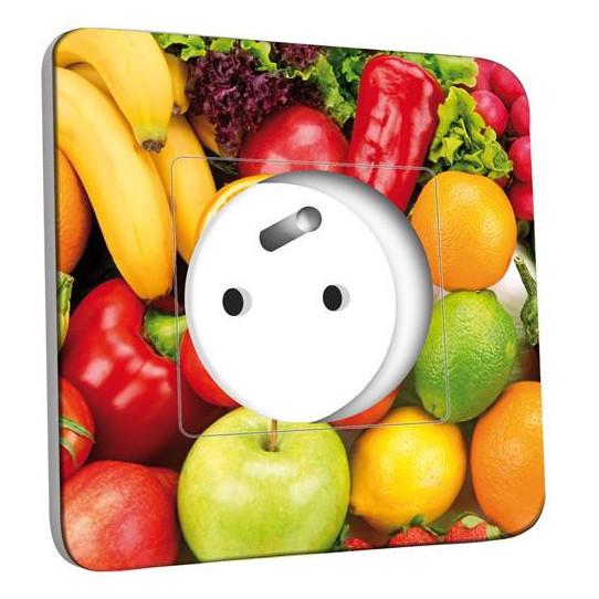 Prise décorée - Cuisine Life style Fruits&Lègumes