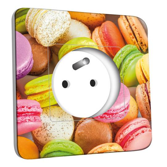 Prise décorée - Macarons 2