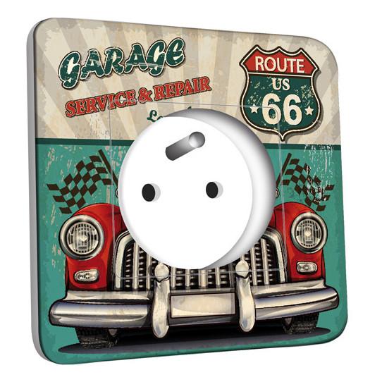 Prise décorée - Route US 66