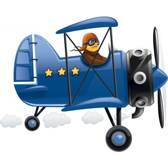 Stickers aviateur