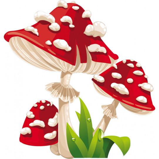 Stickers champignons