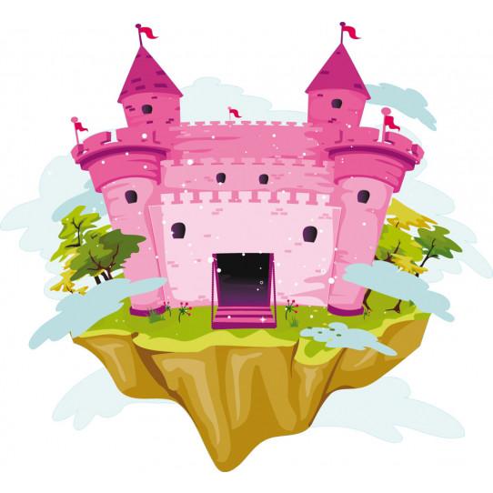 Stickers château princesse