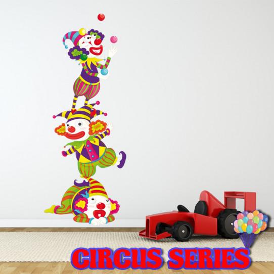 Stickers clowns