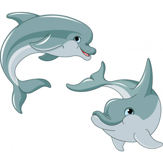 Stickers dauphins