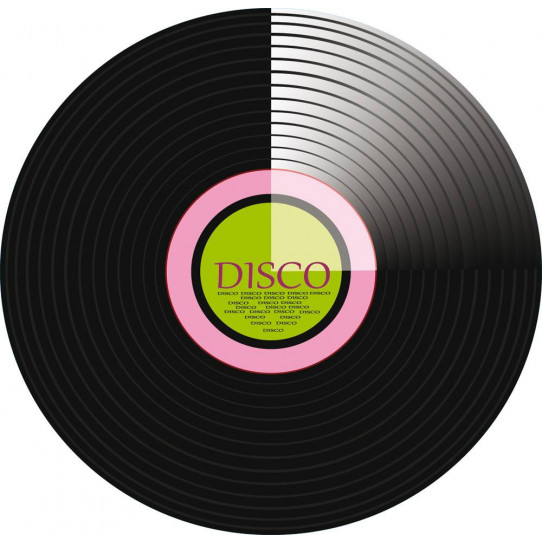 Stickers disque disco