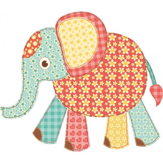 Stickers éléphanteau