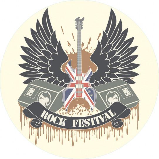Stickers festival rock