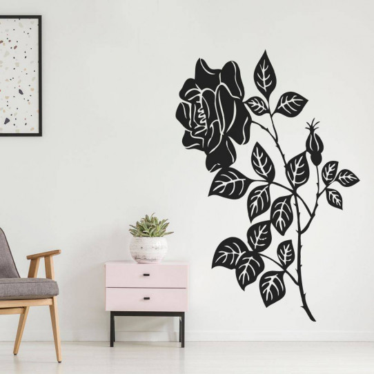 Stickers Fleur de Rosier