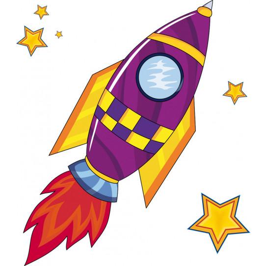 Stickers fusée