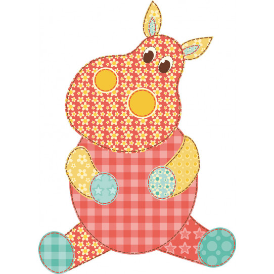 Stickers hippopotame