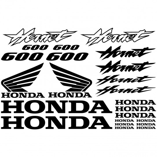 Stickers Honda Hornet 600