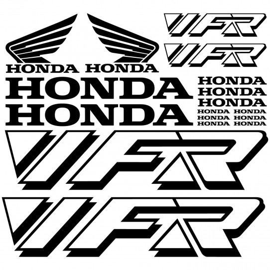 Stickers Honda vfr