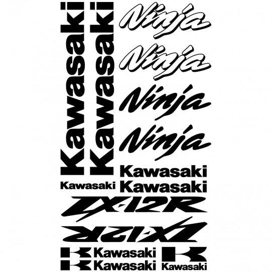 Stickers Kawasaki ninja ZX-12r