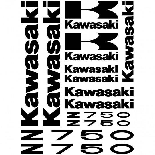 Stickers Kawasaki Z 750
