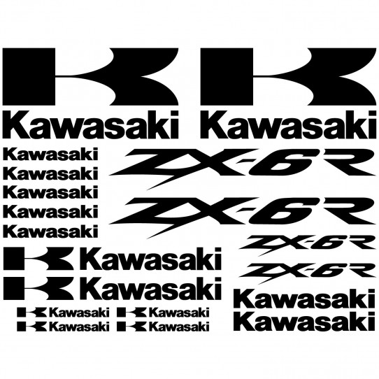Stickers Kawasaki ZX-6r