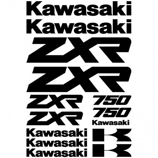 Stickers Kawasaki zxr 750