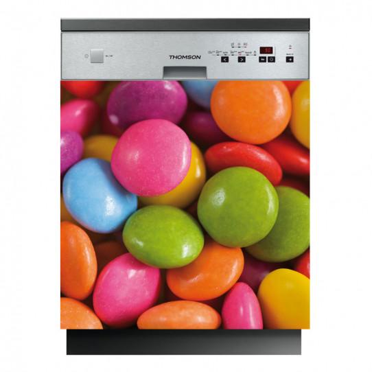 Stickers lave vaisselle bonbons