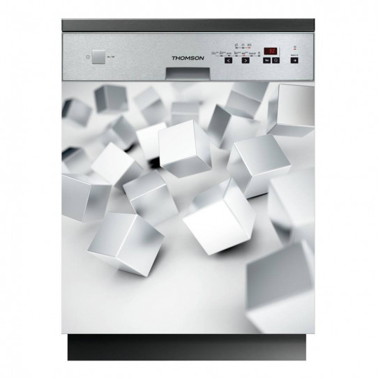 Stickers lave vaisselle cubes
