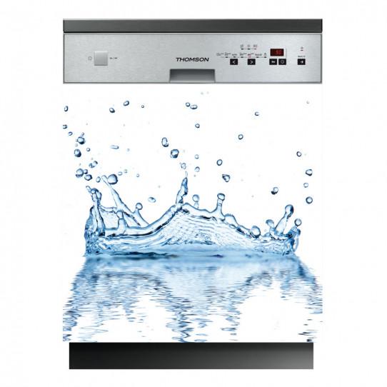 Stickers lave vaisselle eau