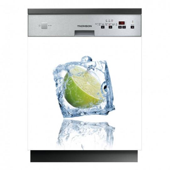 Stickers lave vaisselle glaçon
